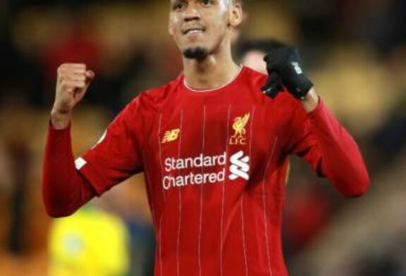 Fabinho delighted after signing new long-term contract with Liverpool