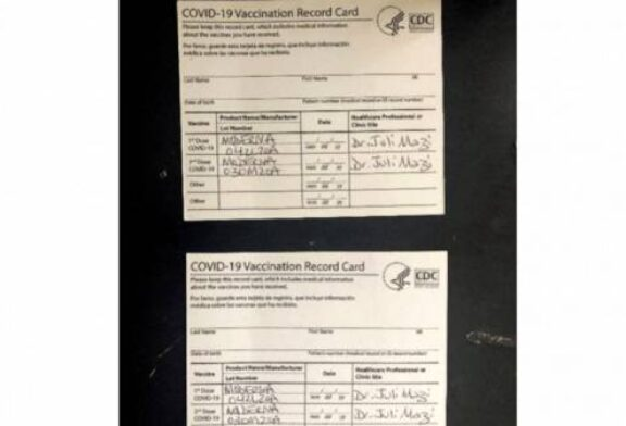 Fake COVID-19 vaccine cards online worry college officials
