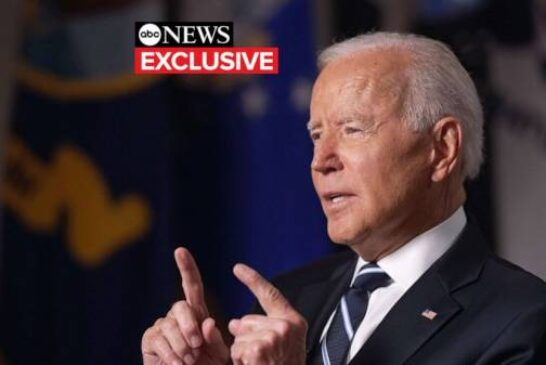 Biden says he did not see a way to withdraw from Afghanistan without 'chaos ensuing'