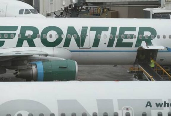Watch: Irate Frontier Airlines Passenger Restrained With Duct Tape After Groping Flight Attendants
