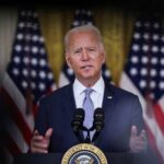 Biden Says He Did Not See Way to Withdraw From Afghanistan Without 'Chaos Ensuing'