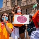 Which states' lawmakers have said they might copy Texas' abortion law